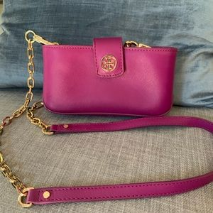 Tory. Burch purple crossbody purse